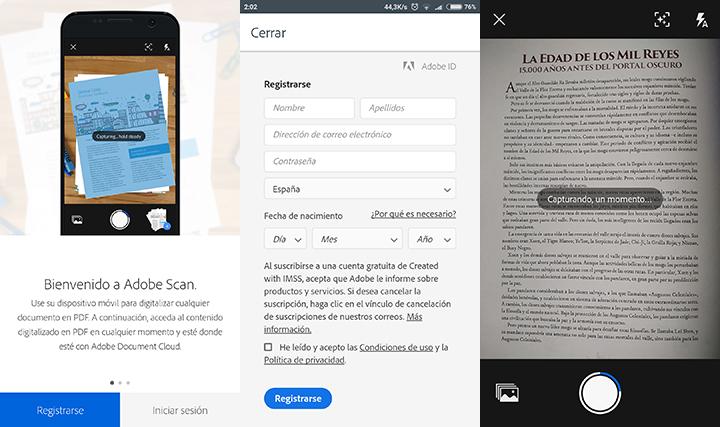 Imagen - Cómo escanear documentos con Adobe Scan