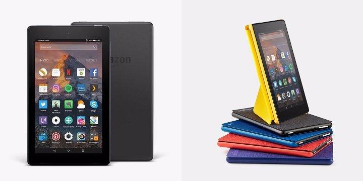Fire 7 y Fire HD 8, ya a la venta las nuevas tablets de Amazon desde 55 euros