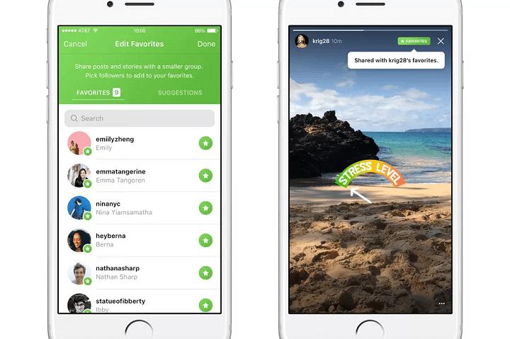Imagen - Instagram añade favoritos para restringir con quien compartimos las fotos