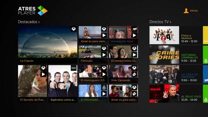 Imagen - La nueva app Atresplayer llega a los televisores de Sony