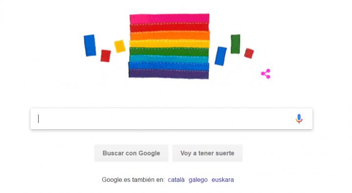 Imagen - Google homenajea a Gilbert Baker con un Doodle