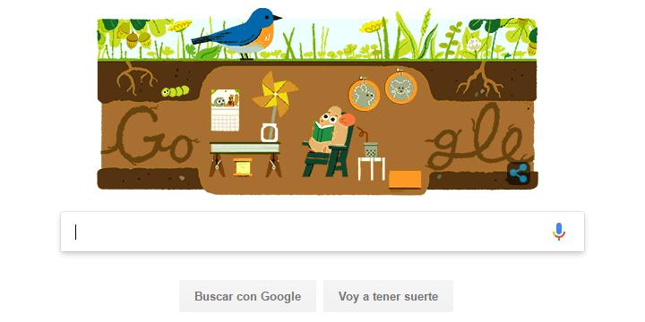 Google celebra el Solsticio de verano con un Doodle
