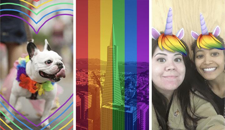 Imagen - Facebook celebra el Orgullo con arcoíris en los perfiles, reacciones y filtros