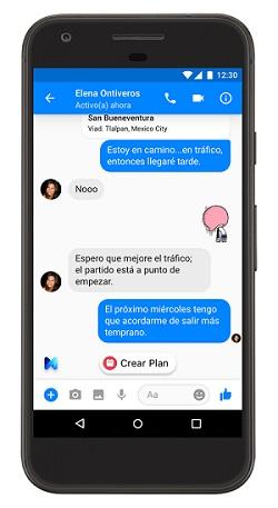 Imagen - Facebook M ya está disponible en España