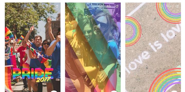 Imagen - Facebook Messenger añade stickers, marcos y filtros por el mes del Orgullo