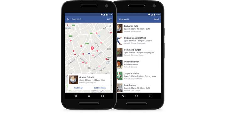 Facebook te permitirá encontrar redes WiFi gratuitas a través de su aplicación