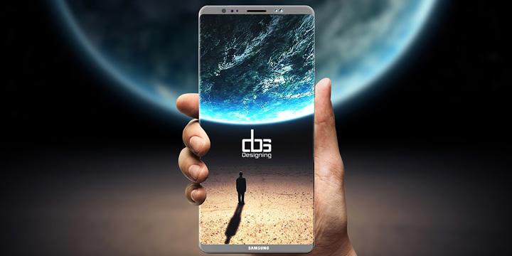 Este sería el Samsung Galaxy Note 8