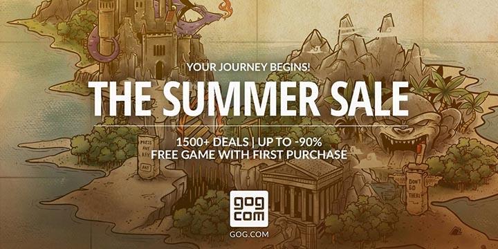 GOG aplica grandes rebajas para más de 1.500 juegos en PC