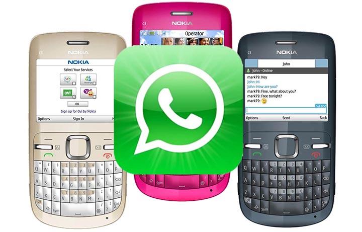Imagen - WhatsApp extiende su soporte para los Nokia S40 y BlackBerry