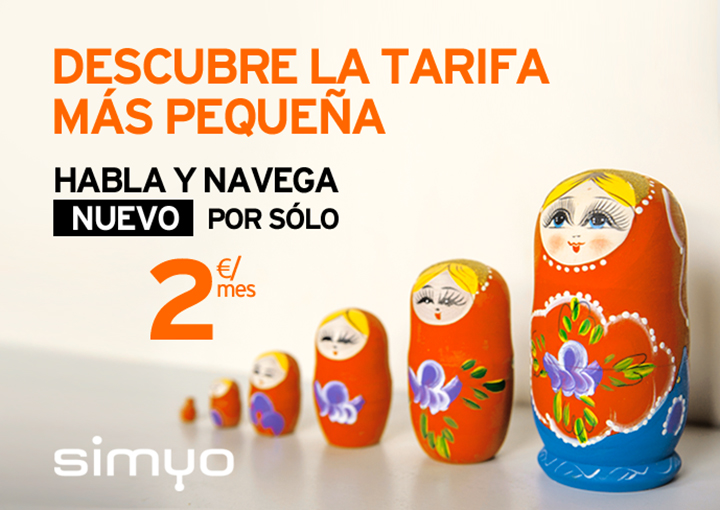 Imagen - Simyo lanza una tarifa de habla y navega por 2 euros al mes
