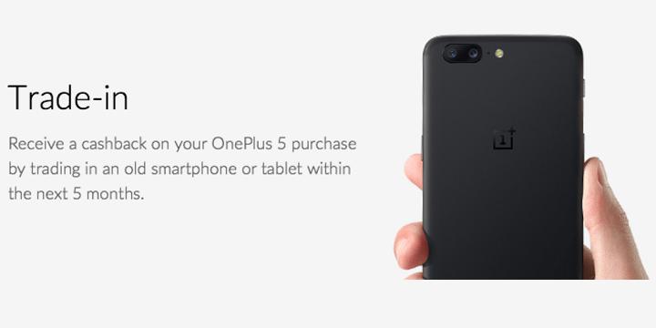 Imagen - Entrega tu viejo móvil al comprar el OnePlus 5 y te pagarán por él