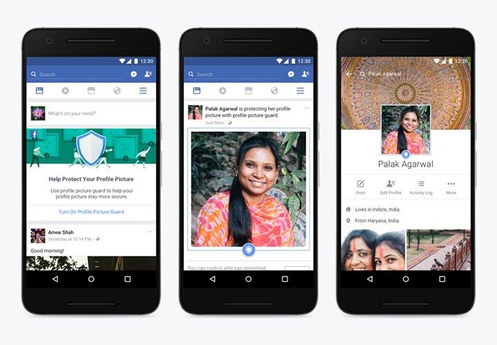 Imagen - Facebook prueba un sistema para proteger las imágenes de tu perfil