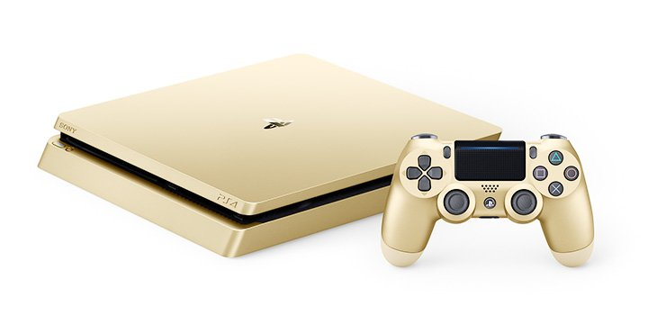 PS4 Gold y PS4 Silver, las ediciones limitadas de PlayStation 4 en dorado y plateado