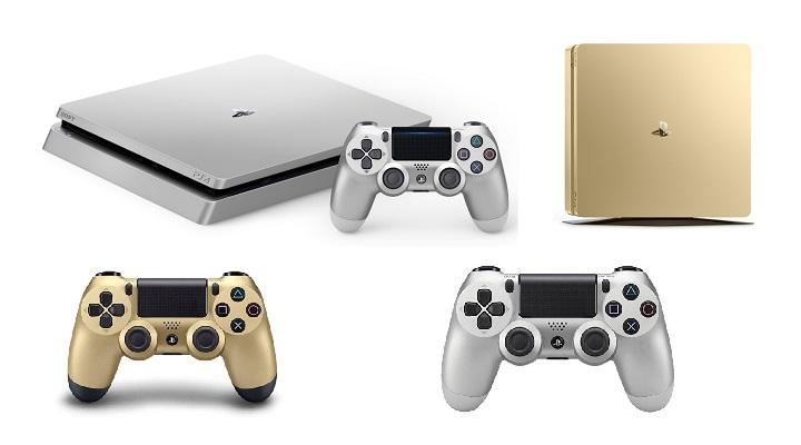 PS4 Gold y PS4 Silver, ya a la venta las versiones dorada y plateada de PlayStation 4