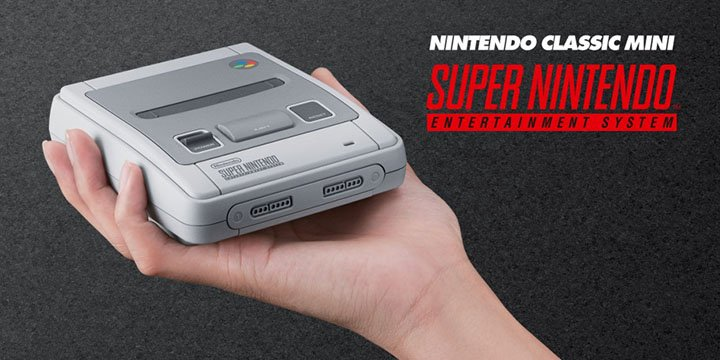 SNES Mini es oficial: detalles de la reedición de Super Nintendo