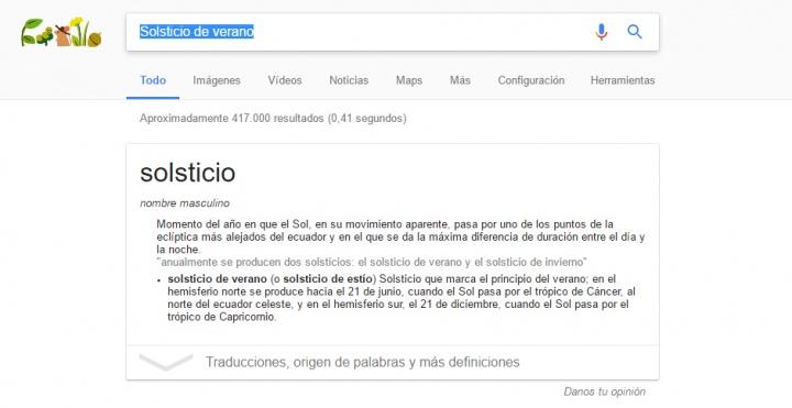 Imagen - Google celebra el Solsticio de verano con un Doodle