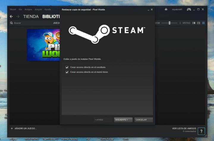 Imagen - Cómo hacer una copia de los juegos de Steam