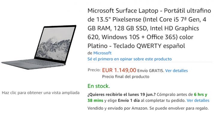 Imagen - Dónde comprar el Surface Laptop