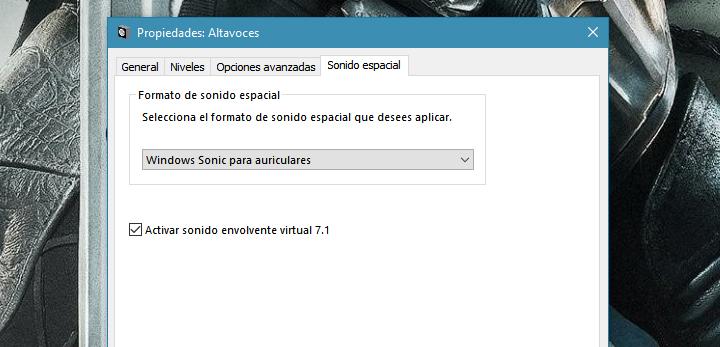 Imagen - Qué es y cómo activar el sonido espacial en Windows 10 Creators Update