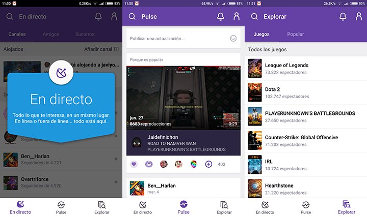Image - Twitch for mobile is updated with new interface