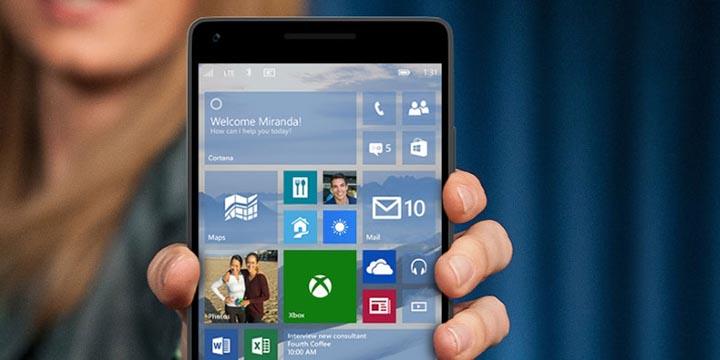 Windows 10 Mobile no recibirá más actualizaciones a partir de 2018