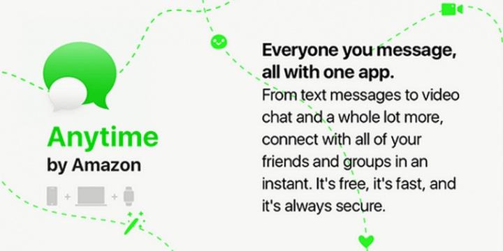 Imagen - Anytime sería el rival de WhatsApp creado por Amazon