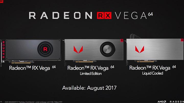 Imagen - Radeon RX Vega, todos los detalles de las nuevas gráficas de AMD