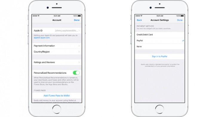 Imagen - App Store, Apple Music y iCloud ya aceptan PayPal