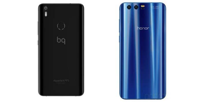 Imagen - BQ Aquaris X Pro vs Honor 9 ¿cuál móvil comprar?