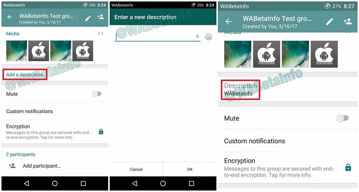 Imagen - WhatsApp permitirá añadir descripciones a los grupos