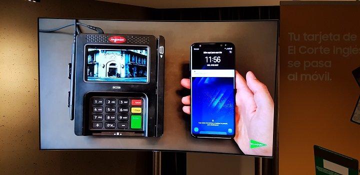 Imagen - Samsung Pay ya permite pagar con la tarjeta de compra de El Corte Inglés