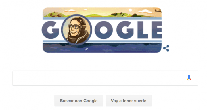 Imagen - Google dedica un Doodle a Amy Johnson