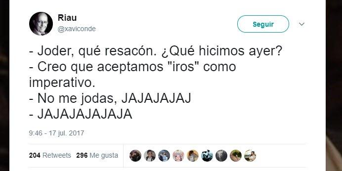 """Imagen - La RAE acepta """"iros"""" en lugar de """"idos"""": los mejores memes en redes sociales"""