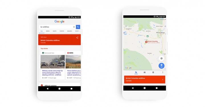 Imagen - Google Maps y Search te avisarán de las emergencias cercanas