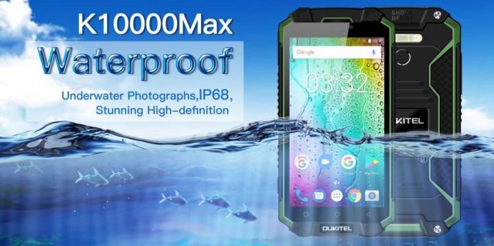 Imagen - Oukitel K10000 Max, un smartphone ultra resistente con batería de 10.000 mAh
