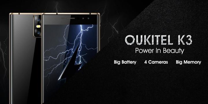 Imagen - Oukitel K3, un smartphone con 4 cámaras y una amplia batería