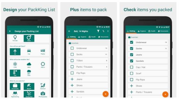 Imagen - 7 apps que te ayudan a hacer la maleta