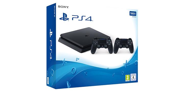 Oferta: PlayStation 4 Slim de 500 GB y dos mandos por 238 euros