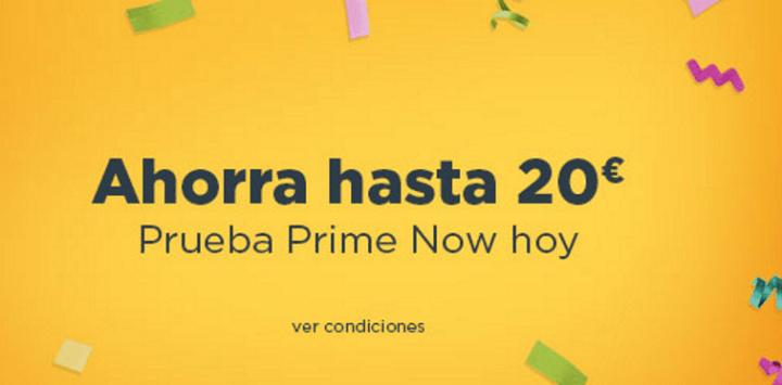 Imagen - Con este código puedes conseguir 20 euros de descuento en Amazon Prime Now
