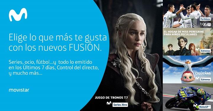 Imagen - Movistar Fusión ofrece fibra, dos líneas móviles y televisión desde 45 euros