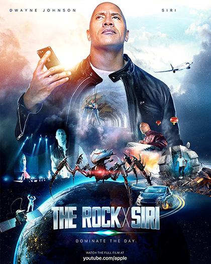 Imagen - 'The Rock' aparece en el nuevo anuncio de Apple junto a Siri