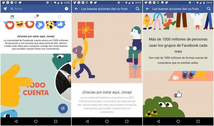 Imagen - Crea tu vídeo en Facebook para celebrar los 2.000 millones de usuarios