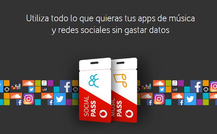 Imagen - Vodafone Music Pass y Social Pass, datos ilimitados para música y redes sociales