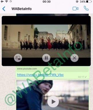Imagen - WhatsApp reproducirá vídeos de YouTube desde la propia aplicación