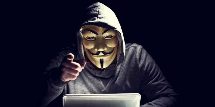 Anonymous ataca la web de la Casa Real