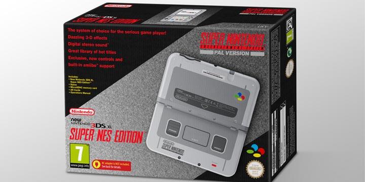 Imagen - New Nintendo 3DS XL recibirá una versión inspirada en Super Nintendo