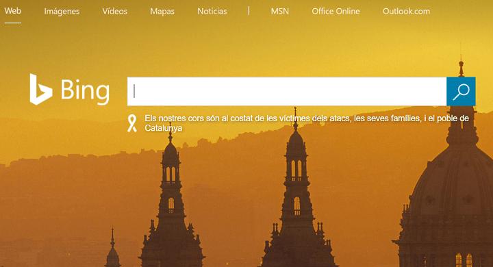 La portada de Bing muestra el dibujo de un pene y se vuelve viral