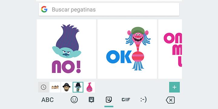 Imagen - Gboard se actualiza con emojis personalizados y pegatinas de Bitmoji