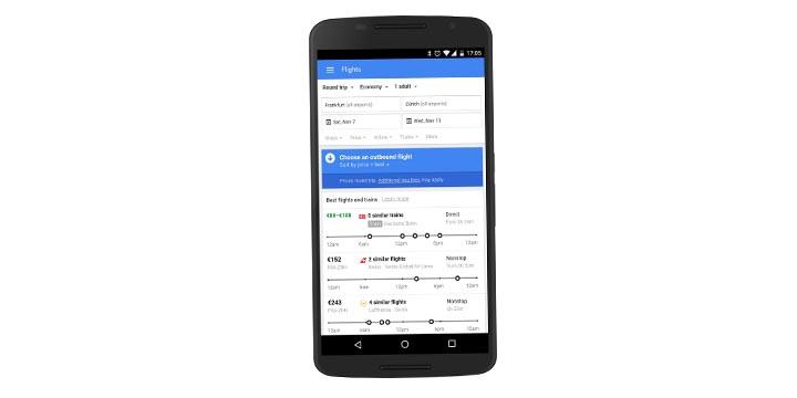 Imagen - Google te recomendará las opciones más baratas para tus viajes