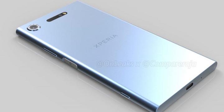 Imagen - Así es el diseño del Sony Xperia XZ1
